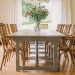 Dining room in Son Felip country house Menorca